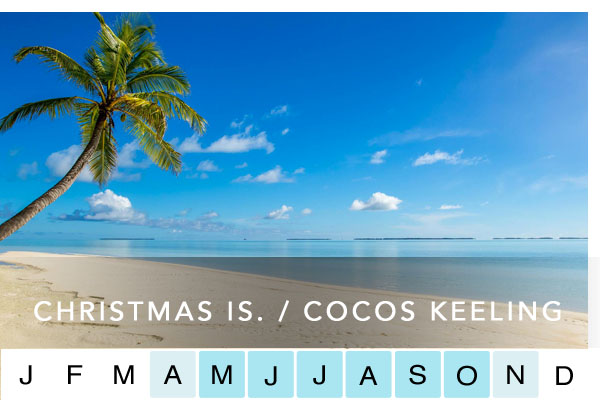CHRISTMAS ISLAND / COCOS