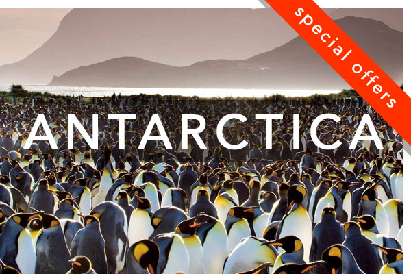Antarctica Small Ship Cruise Special Offers