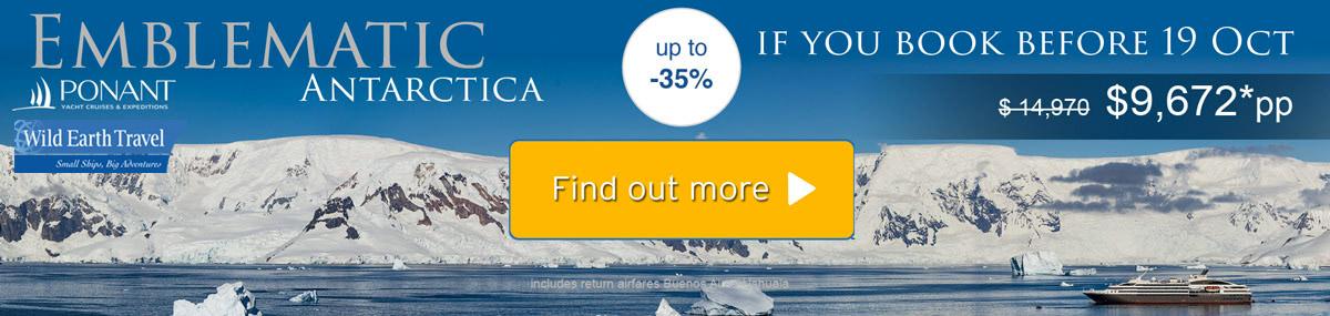 Ponant Antarctic Offer
