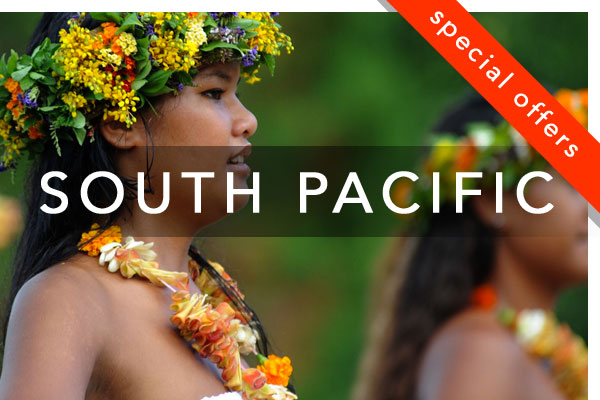 South Pacific Small Ship Cruise Special Offers